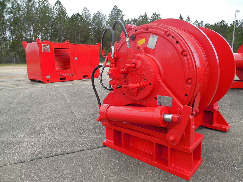 Hydraulic / Electric Powered Winches